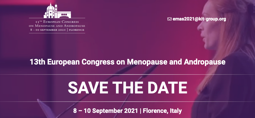 13th European Congress on Menopause and Andropause Florence, Italy, May 5–7, 2021
